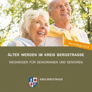 Titelseite Seniorenwegweiser Kreis Bergstraße