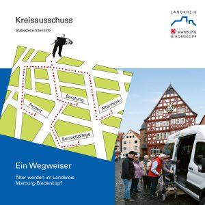Titelseite Seniorenwegweiser Marburg-Biedenkopf