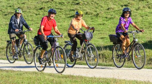 Radfahren – Fitness für jedes Alter